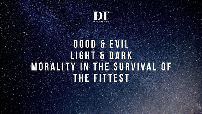 Good v. Evil, Light v. Dark Triad, PUAs & Red Pill: Morality in the Survival of the Fittest