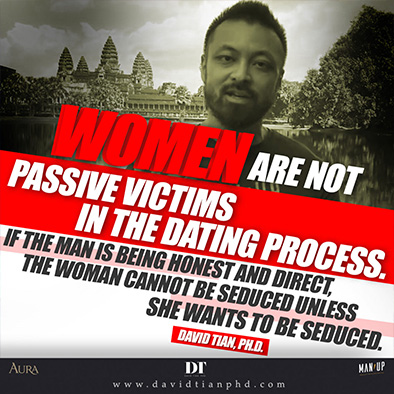 Women are not passive victims in the modern dating process