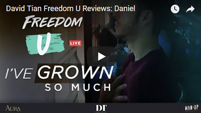 David Tian Freedom U Reviews: Daniel