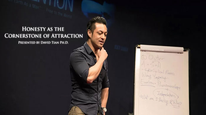 Demolish Your Deepest Insecurities Using Honesty: David Tian Ph.D. at the 21 Convention