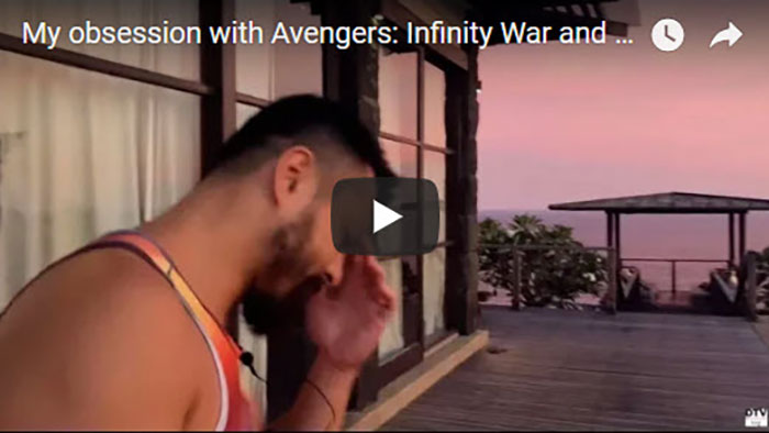 My obsession with Avengers: Infinity War and 3 countries in 2 days | DTVlog 19