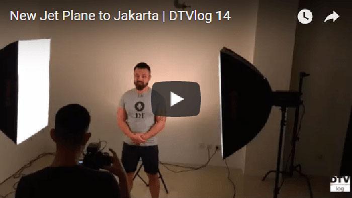 New Jet Plane to Jakarta | DTVlog 14