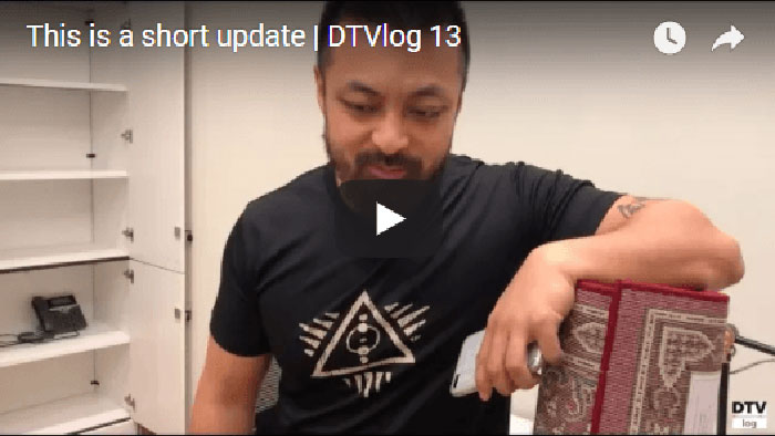 This is a short update | DTVlog 13