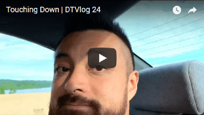 Touching Down   DTVlog 24