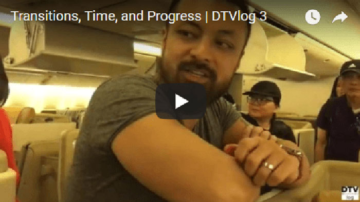 Transitions, Time, and Progress | DTVlog 3
